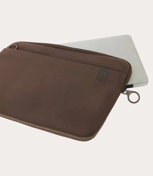 Tucano Top 13 Second Skin Neoprene Sleeve For Macbook Pro 13 Colors Brown